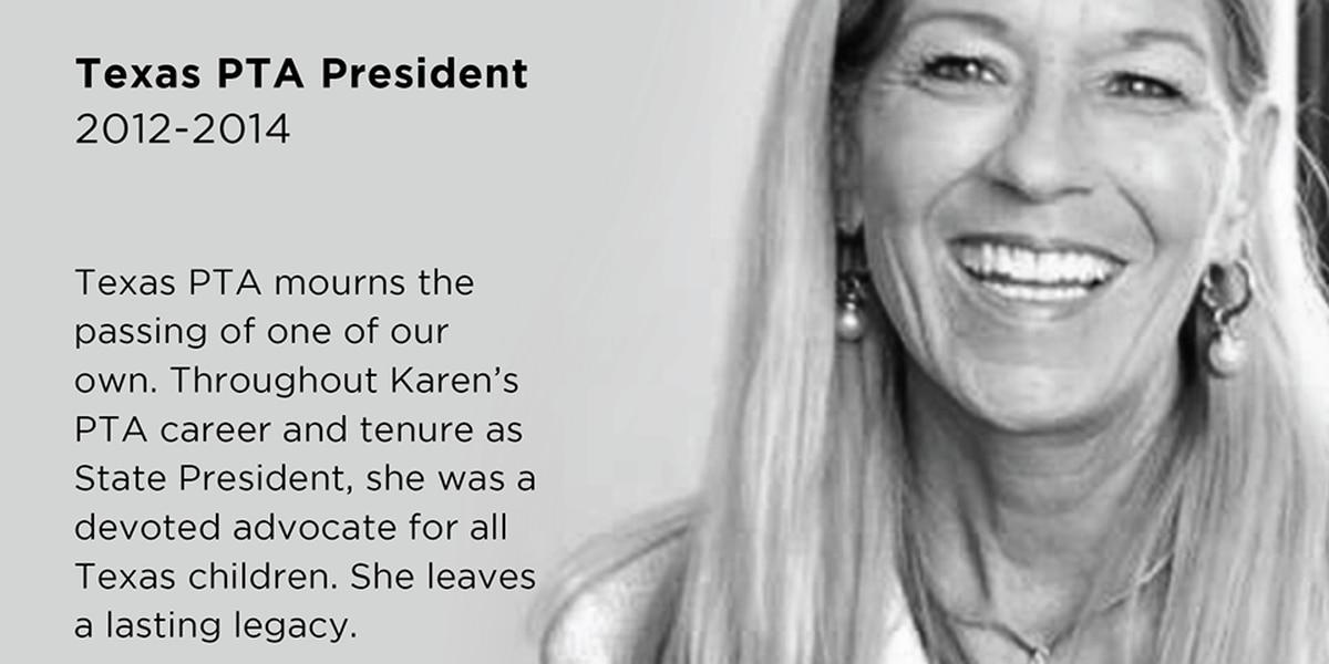 Karen Slay, former Texas PTA president, LISD trustee dies at 58