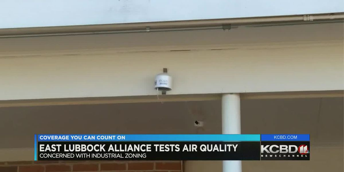 East Lubbock Alliance testing air quality