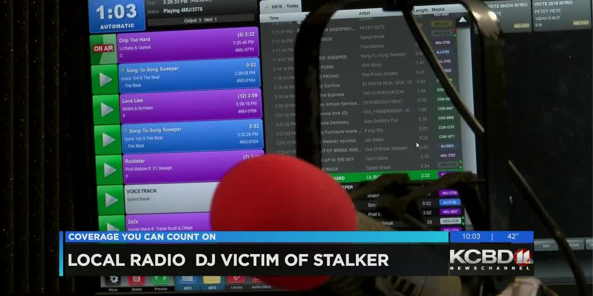 KCBD Newschannel 11 at 10 Radio DJ Stalker