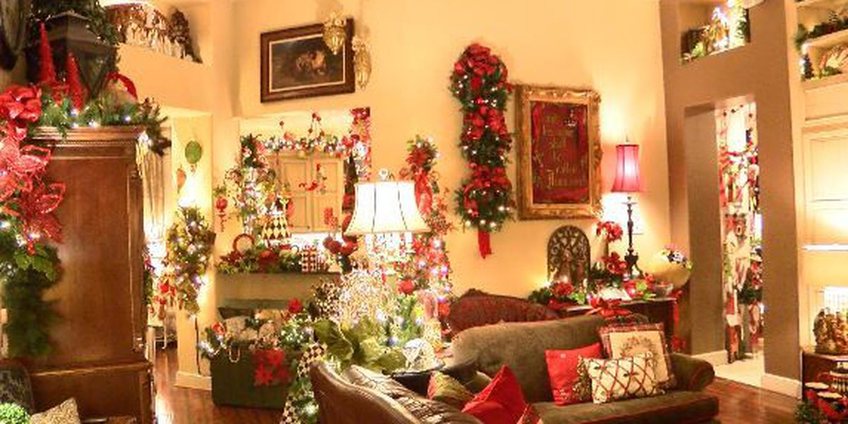 Lubbock woman elaborately decorates her home for Christmas