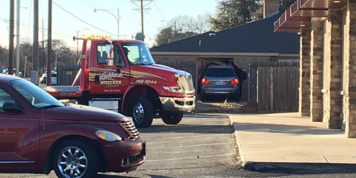 Car plows through fences, into house at 82nd & Abbeville