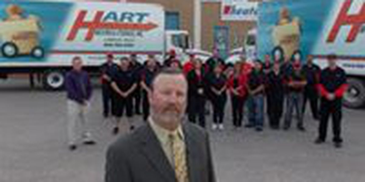 Hart Moving and Storage wins small business award