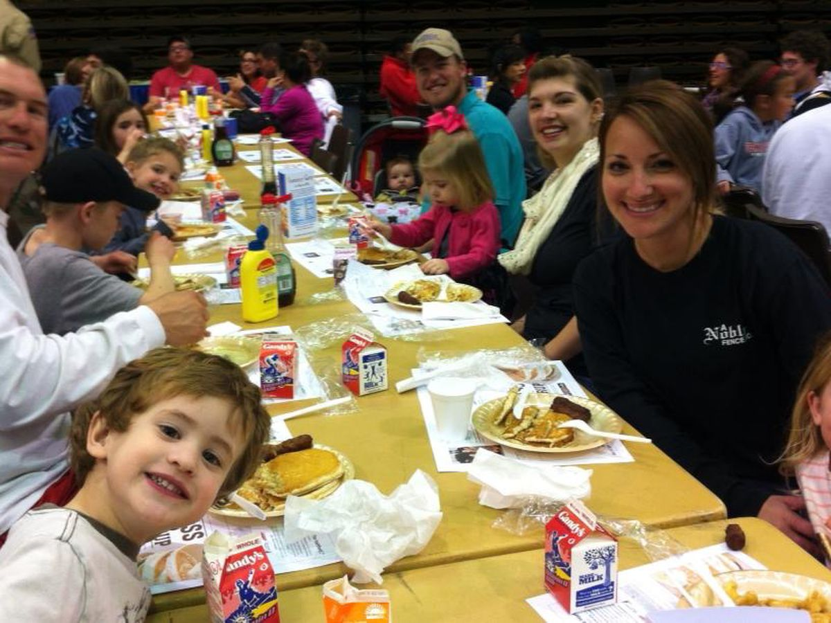 10-year-old continues family tradition at Lubbock Lions Club Pancake Festival