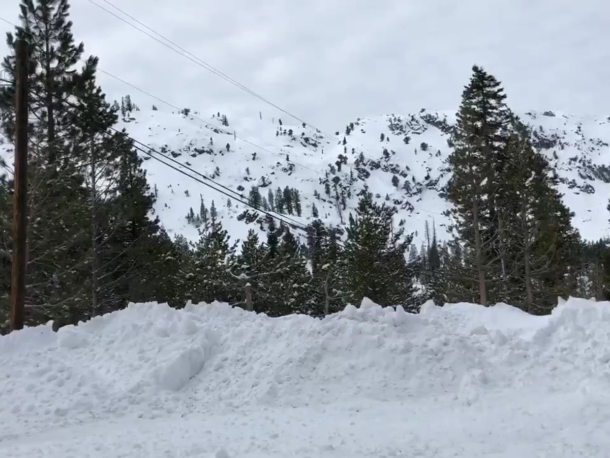 1 dead, 1 seriously injured in avalanche near Lake Tahoe