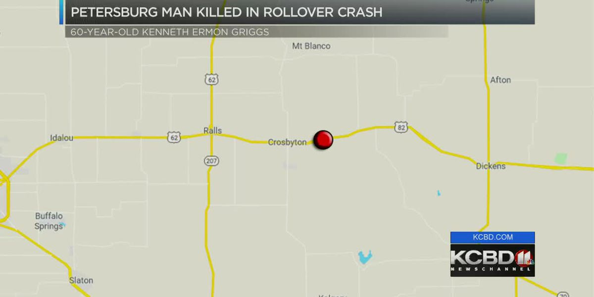 Petersburg man killed after weekend wreck in Crosby County
