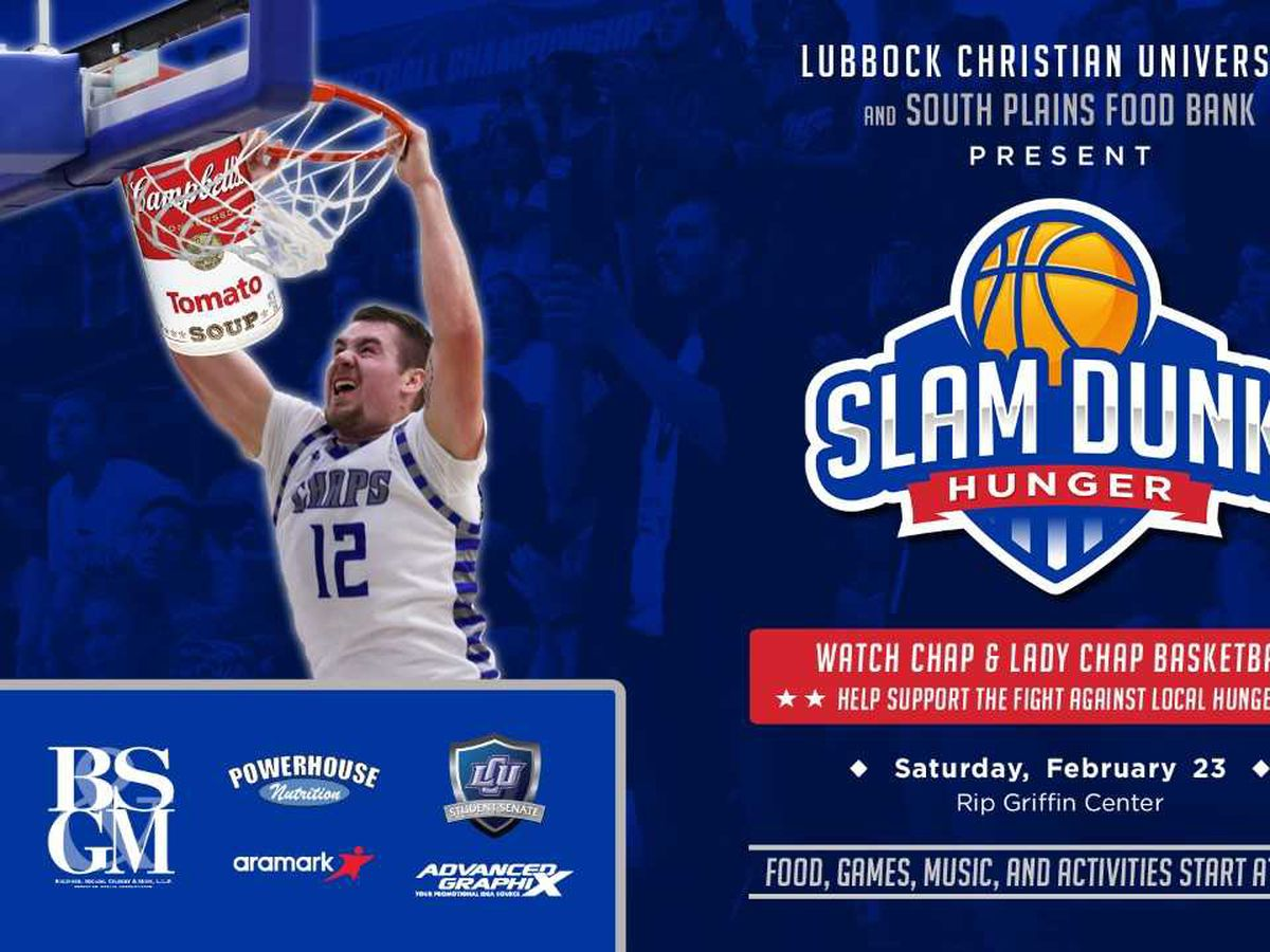 LCU, South Plains Food Bank to host Slam Dunk Hunger event Saturday
