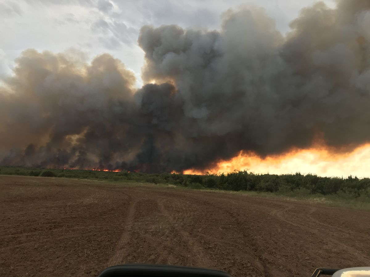 Federal team joining state and local forces to battle Copper Breaks Fire in Hardeman County