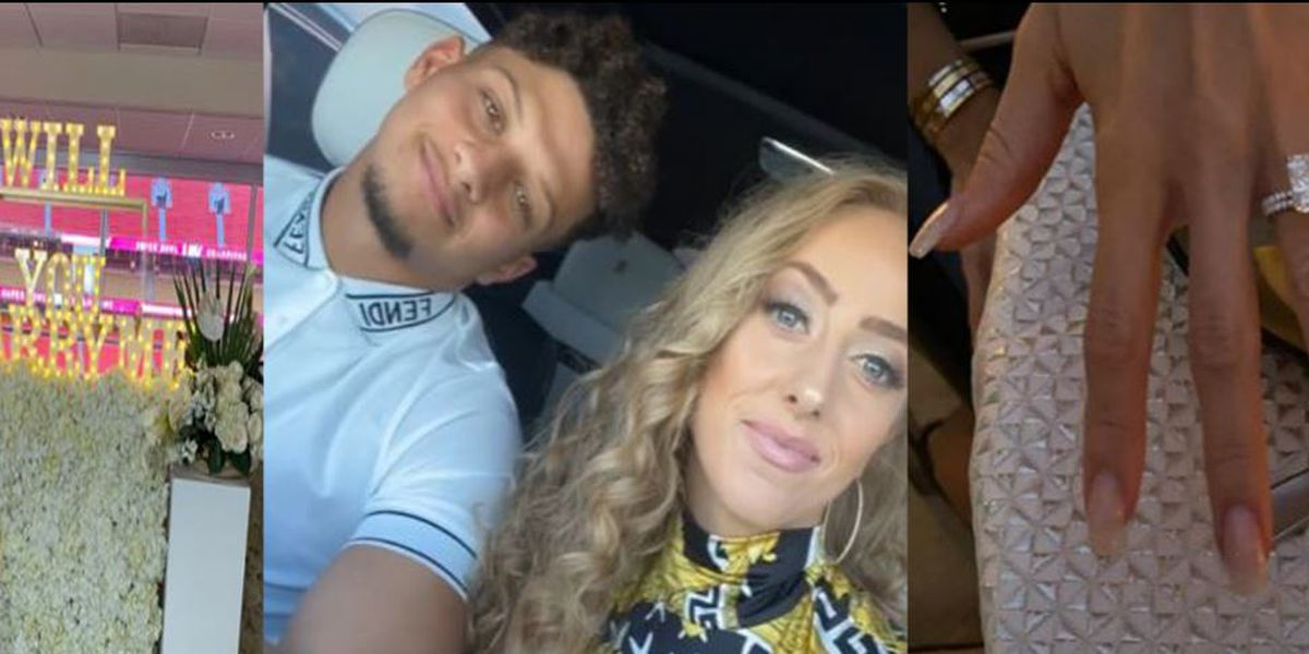 She Said Yes: Patrick Mahomes proposes to girlfriend Brittany
