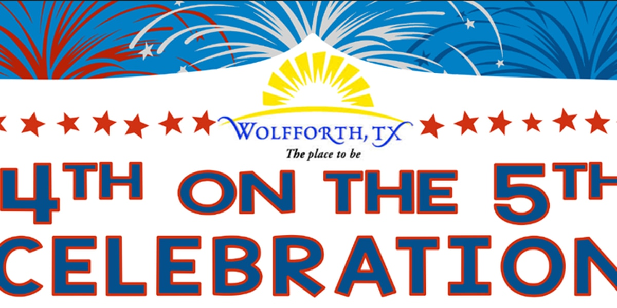 Wolfforth to host '4th on 5th' festivities Thursday