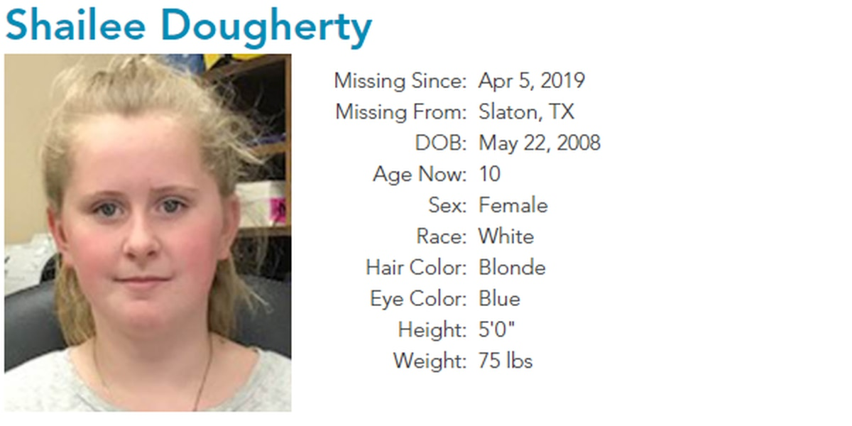 DPS searching for 10-year-old Slaton girl missing since April 5