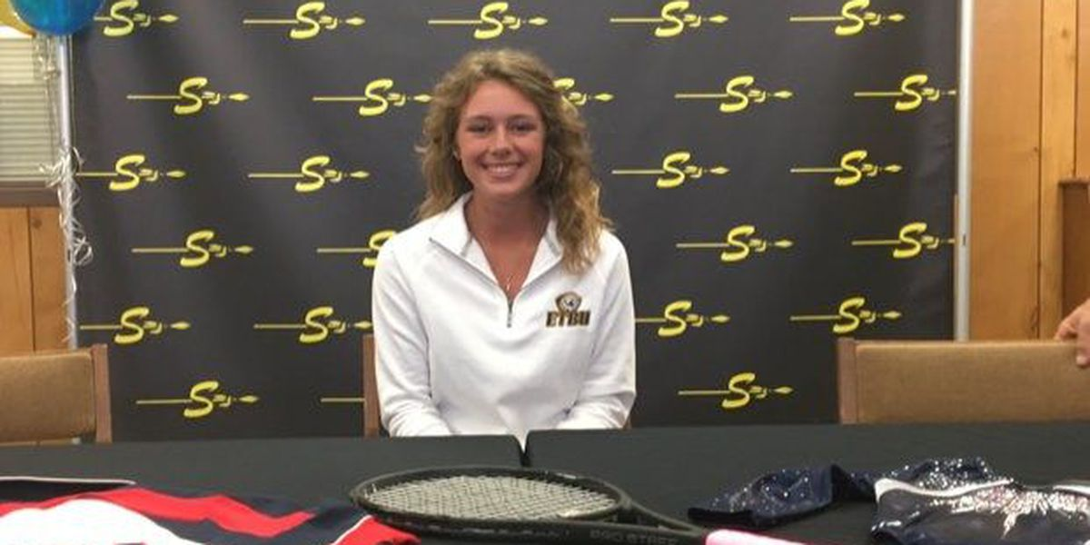 Seminole's Miracle Maiden Caanon Gibbons signs