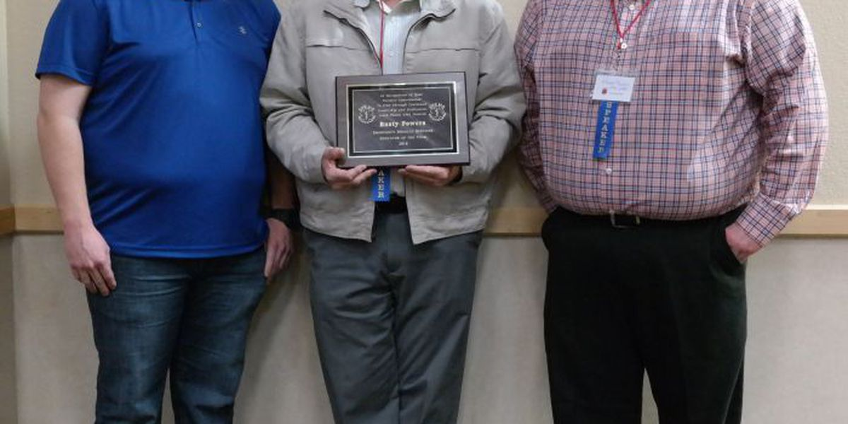 Rusty Powers named SPEMS Educator of the Year