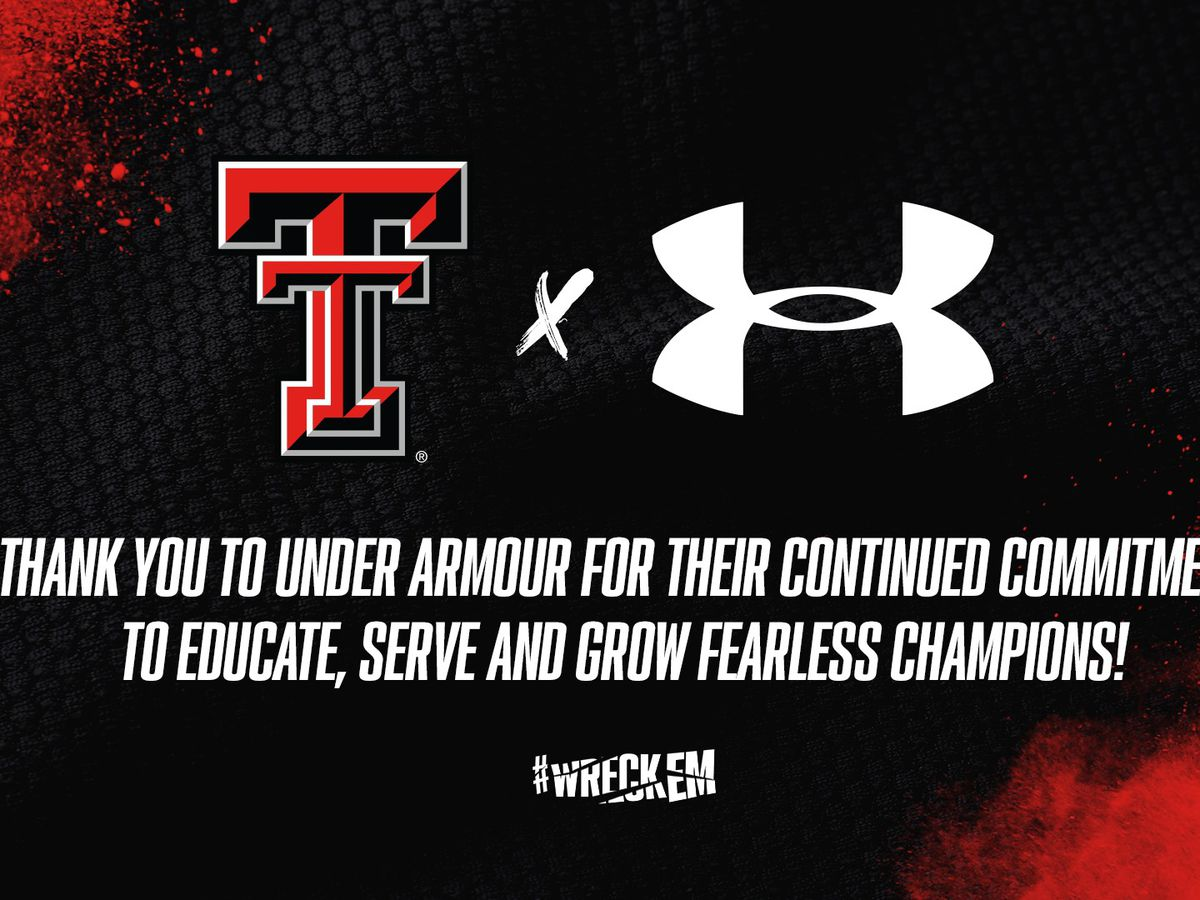 Texas Tech agrees to four-year extension with Under Armour