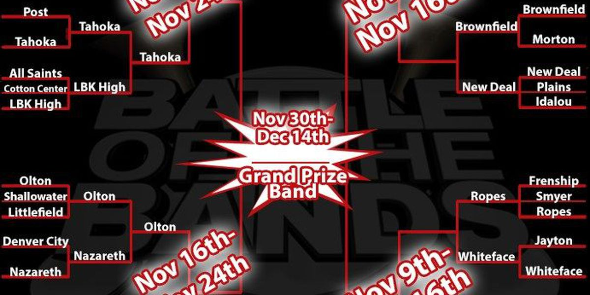 12 Bands Left in the Battle of the Bands Contest
