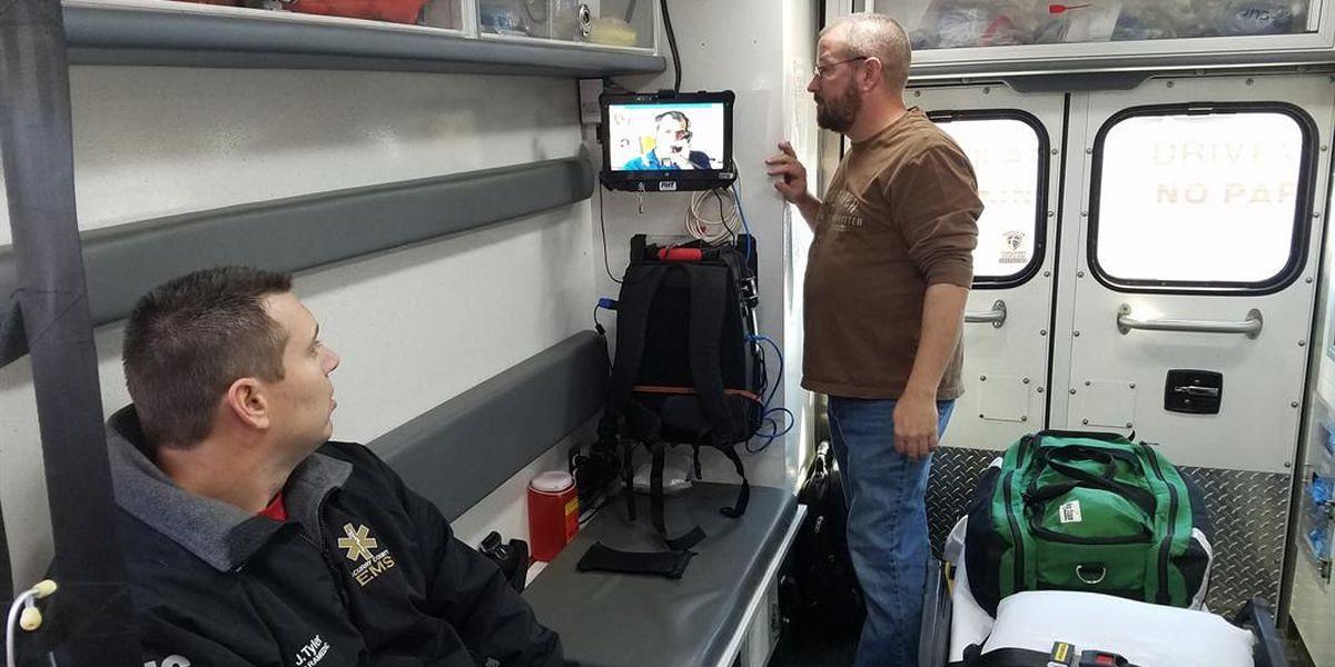 New telemedicine equipment connects South Plains ambulances to hospitals