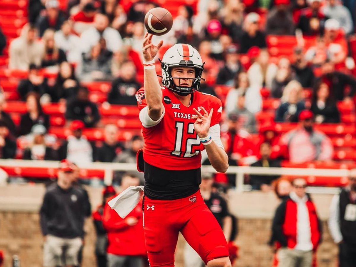 Red Raider Offense Scores Win in Spring Game