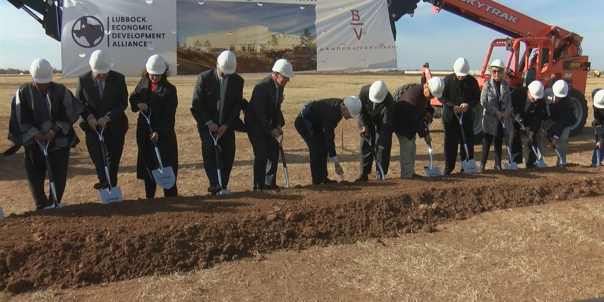 LEDA, Bandera Ventures break ground on building in Lubbock Business Park