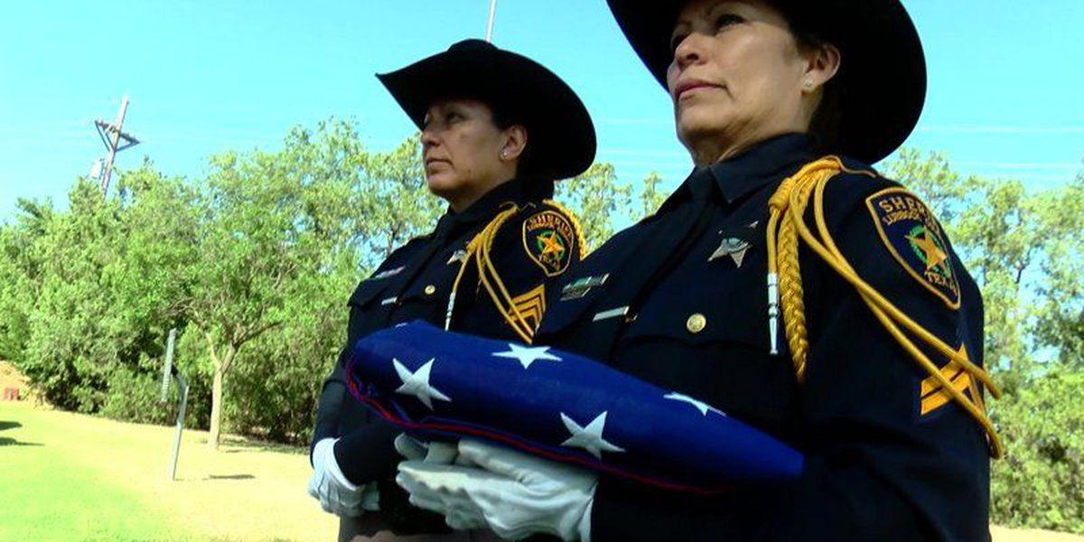 Blue bond: Local law enforcement honors fallen officer Floyd East, Jr.