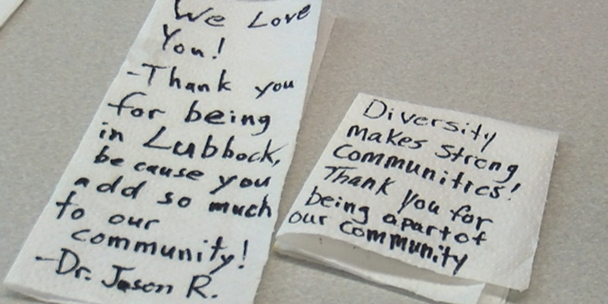 People in Lubbock show appreciation for Thai restaurant that received hateful note