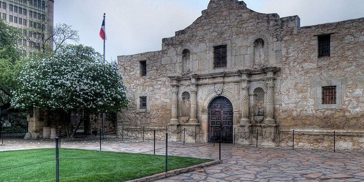 Texas Land Commissioner George P. Bush signs plan to overhaul Alamo Plaza