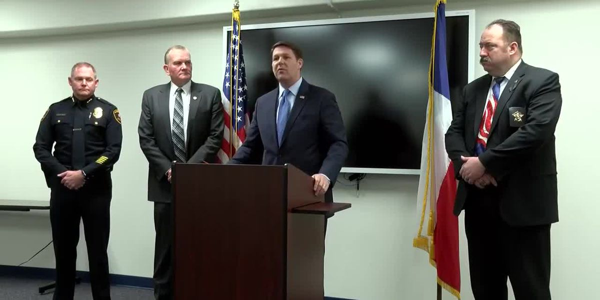 FULL NEWS CONFERENCE: Lubbock law enforcement leaders on drugs, border security