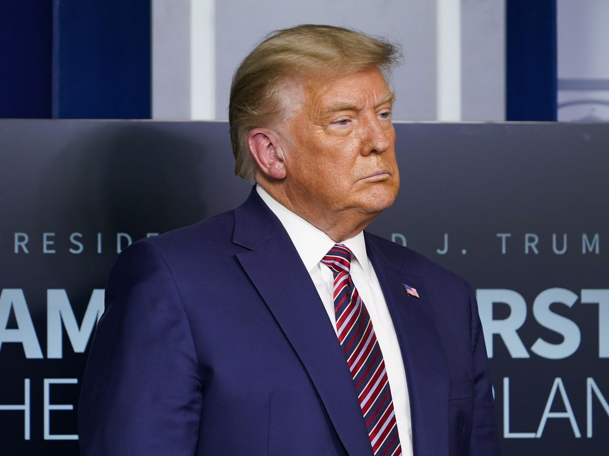 Justice Department appeals, seeking to replace Trump in suit