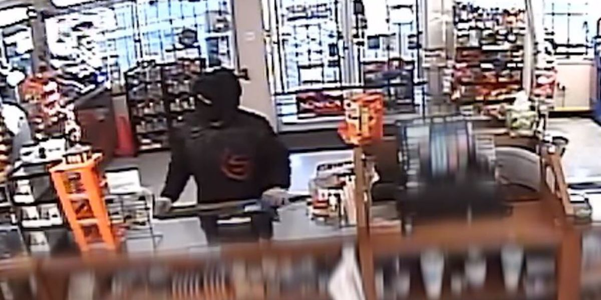 Police search for suspect in 2 robberies at Nothin' Butt Smokes on 34th St.