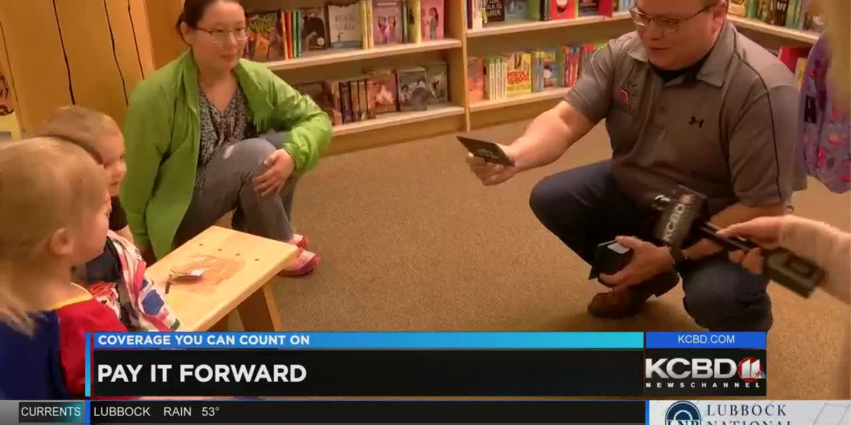 Pay It Forward: Surprise during Story Time