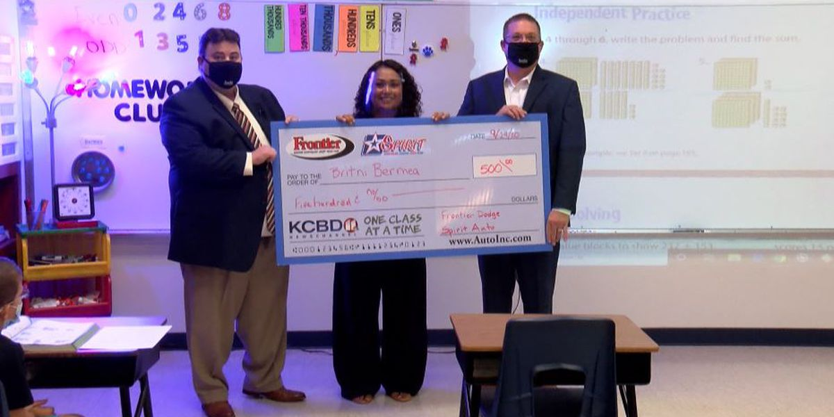 One Class At A Time: Smyer Elementary teacher, South Plains College Foundation awarded $500
