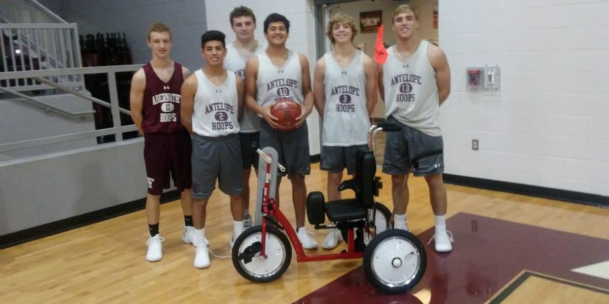 Abernathy students build tricycle for disabled Muleshoe girl