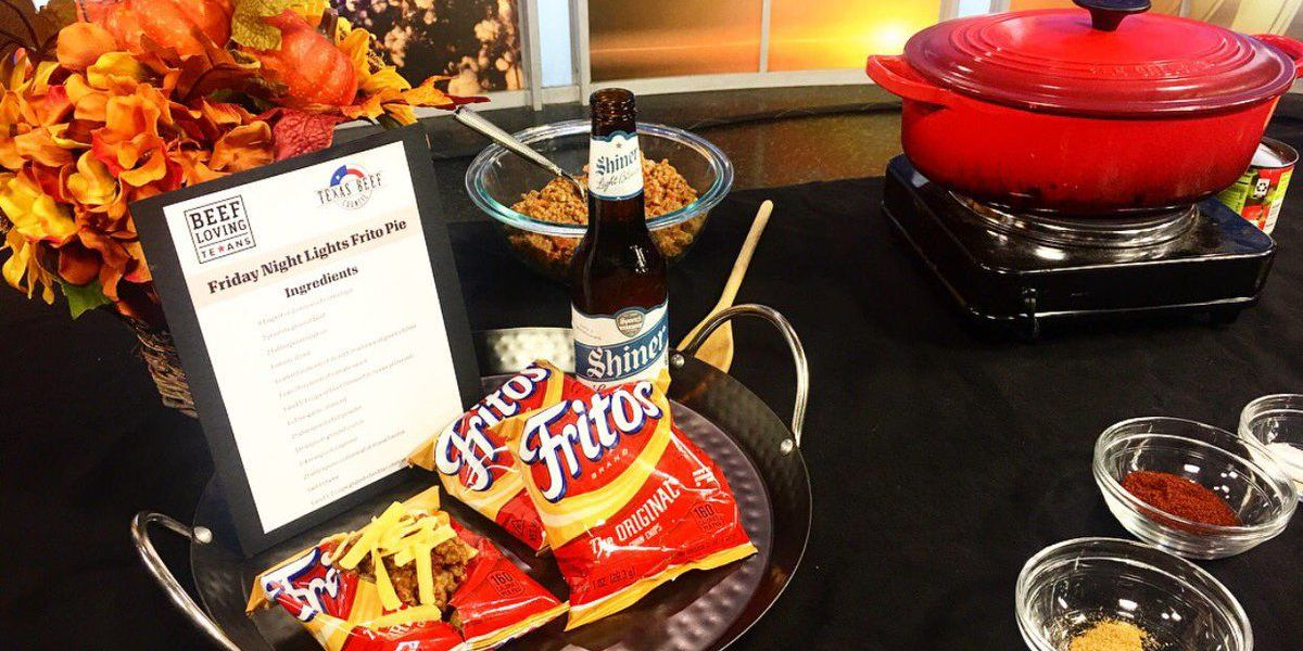 Noon Notebook: Recipe for Beef Loving Texans' Friday Night Lights Frito Pie