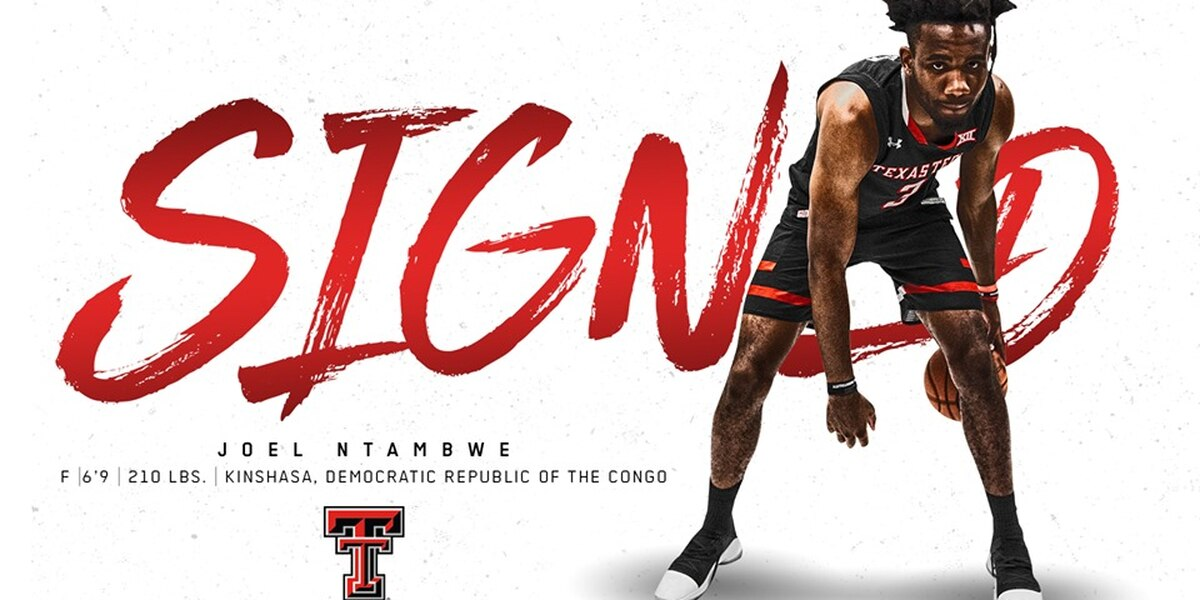 Red Raider basketball signs Joel Ntambwe