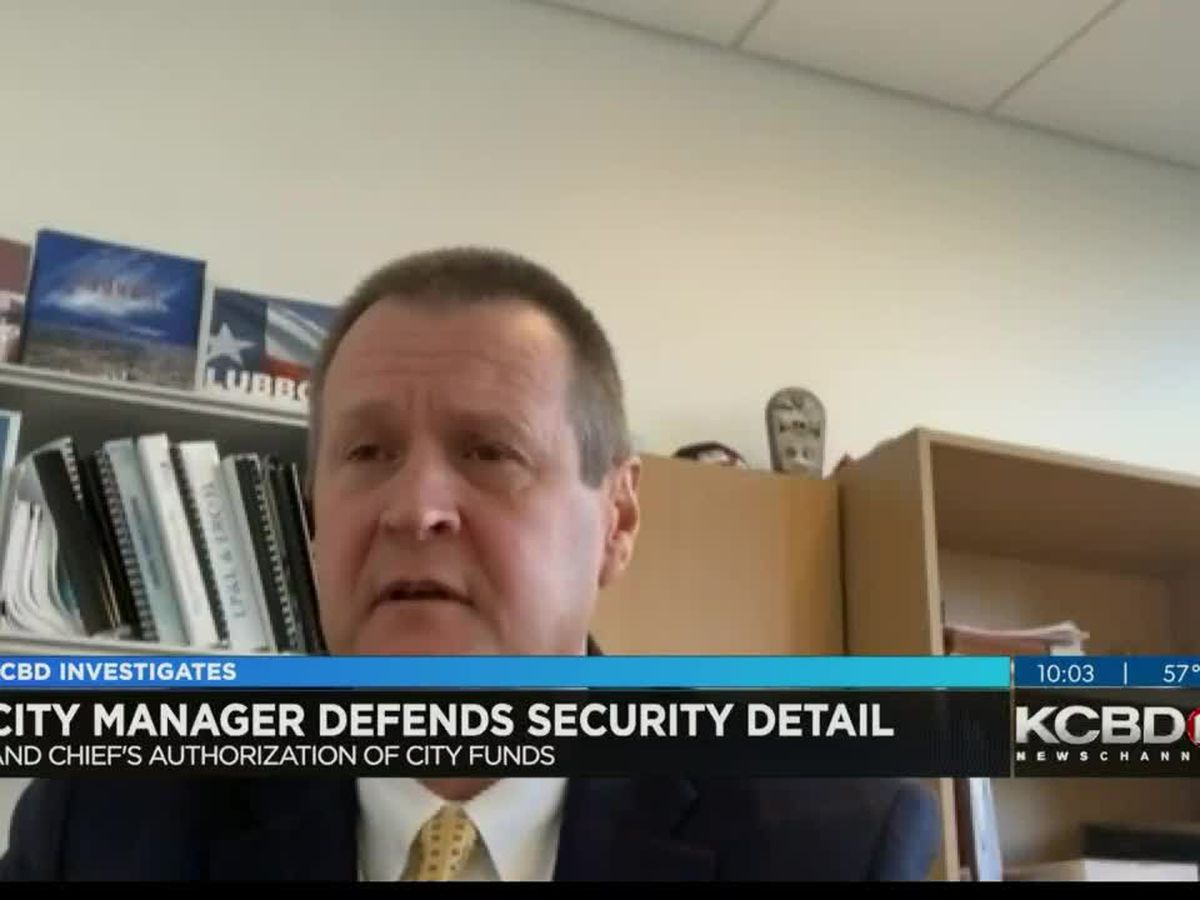 City Manager defends VIP protection for council members to provide 'continuity of government'