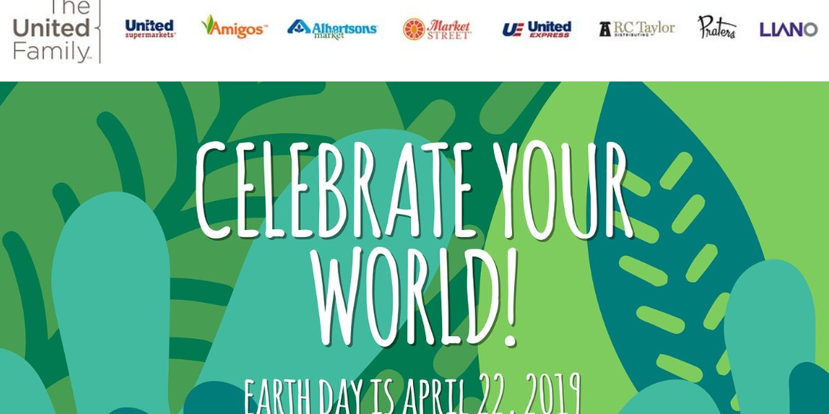 United to celebrate Earth Day with free reusable bags