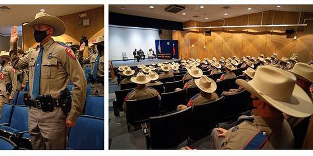Texas DPS commissions 77 new Troopers at graduation ceremony