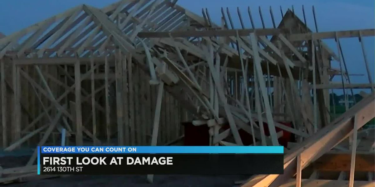 Storm damage reported in South Lubbock