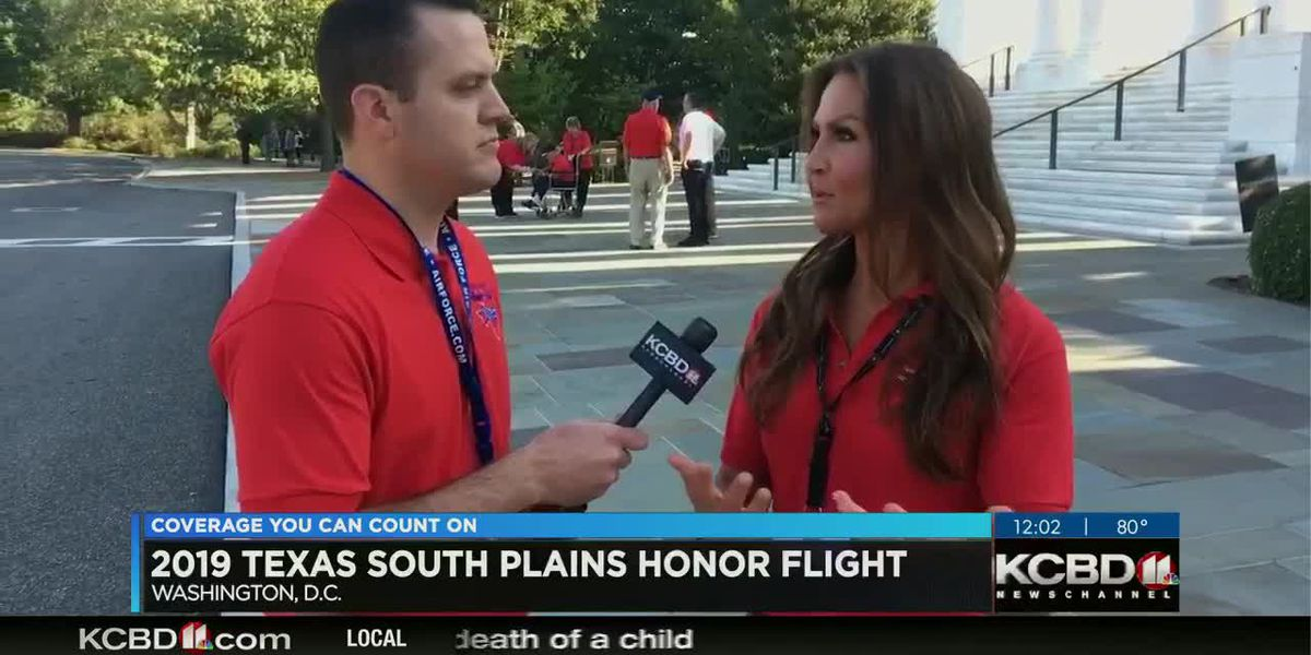 2019 South Plains Honor Flight - Monuments and memorial visit rundown