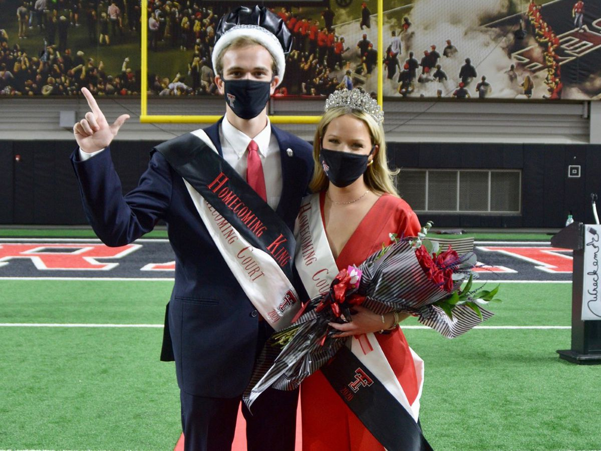 Texas Tech Homecoming King, Queen crowned during virtual pep rally