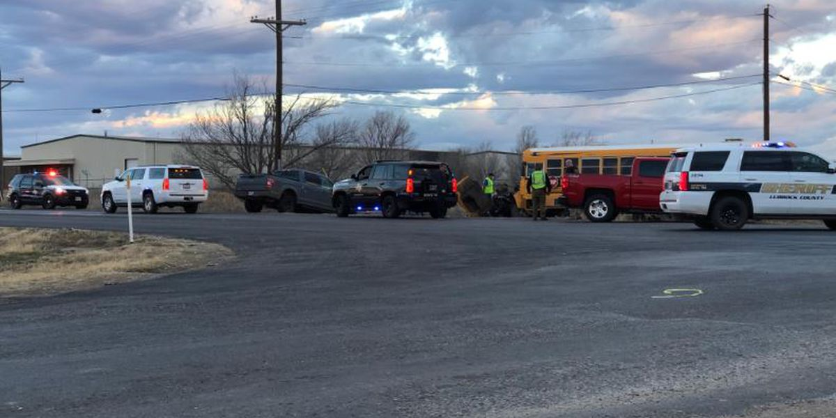 Lubbock-Cooper bus involved in crash with 18-wheeler near 1585 and MLK