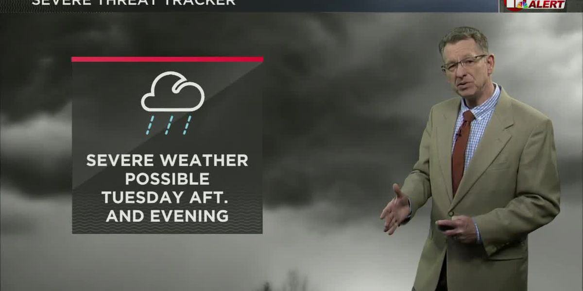 First Alert Weather Day: Severe Thunderstorm warning issued