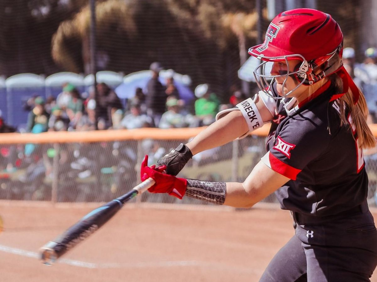 No. 12 Texas Tech softball falls to Kansas