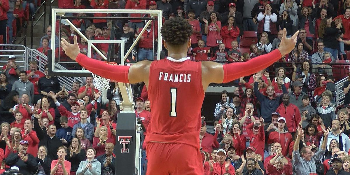 TTU men's basketball back to No. 11 in AP poll