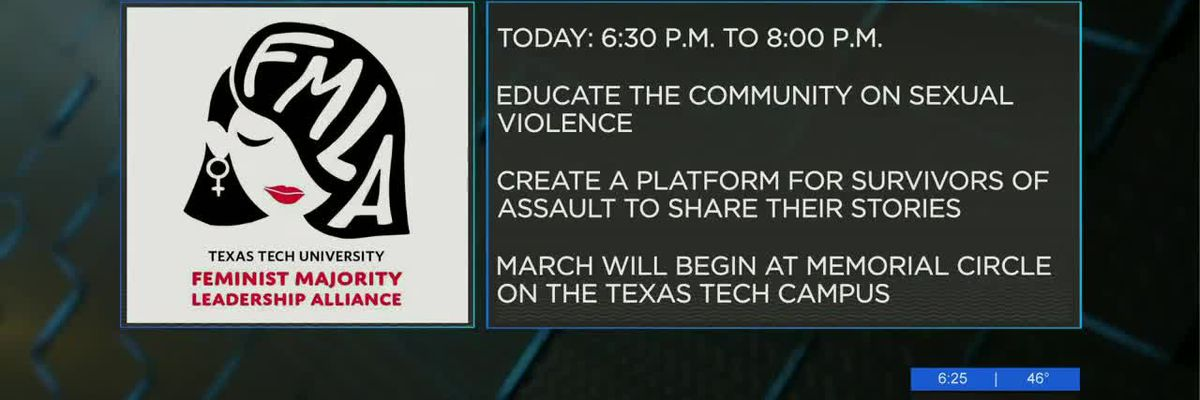 Texas Tech group to host Take Back the Night event