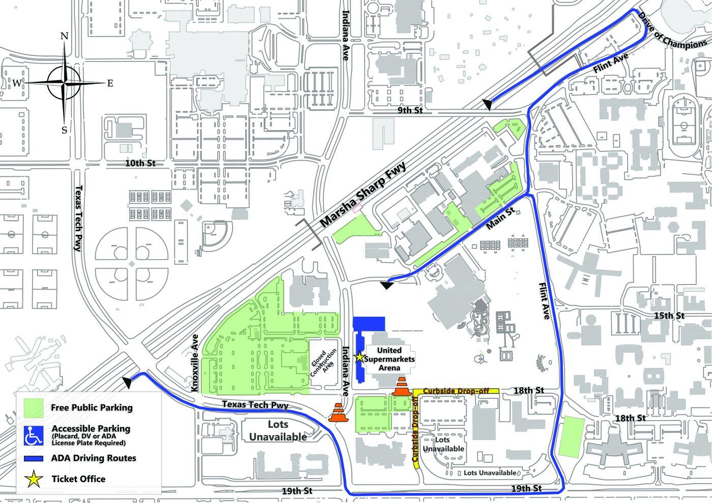 Texas Tech\'s parking coordinators prepare for thousands of ...