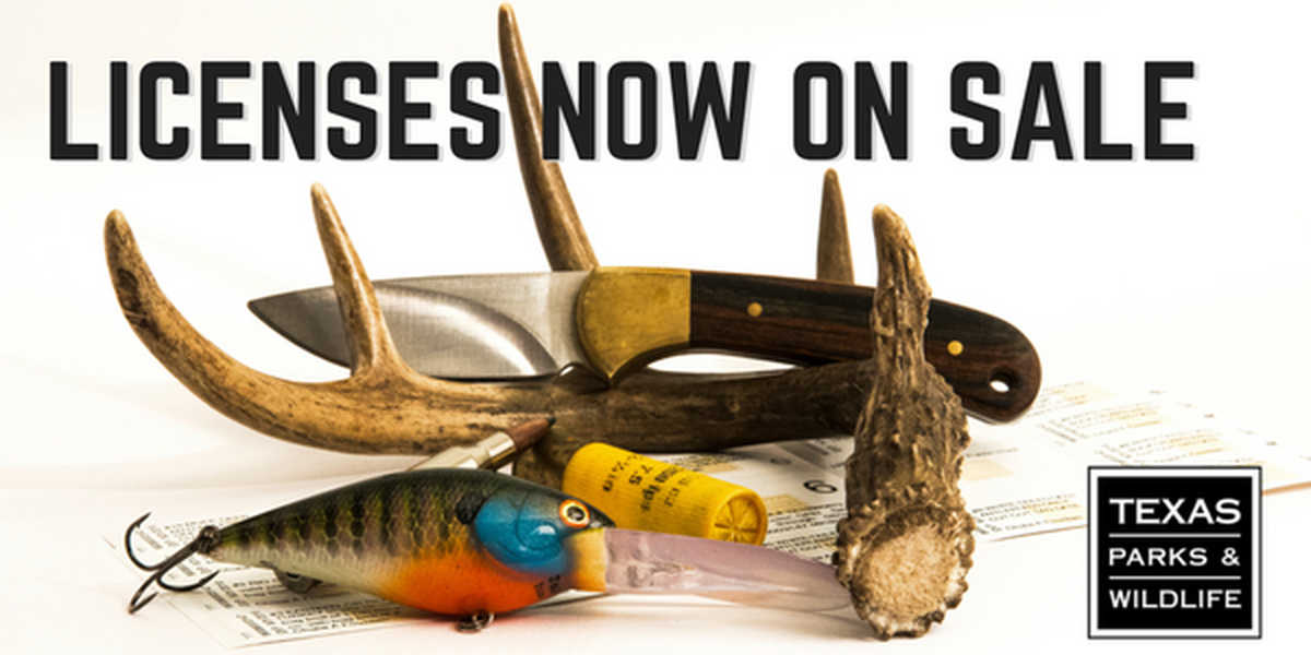 Hunting, fishing licenses now on sale for 2017-2018