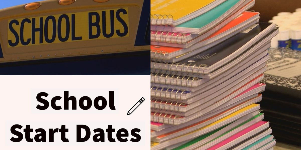 BACK TO SCHOOL: Important dates to know