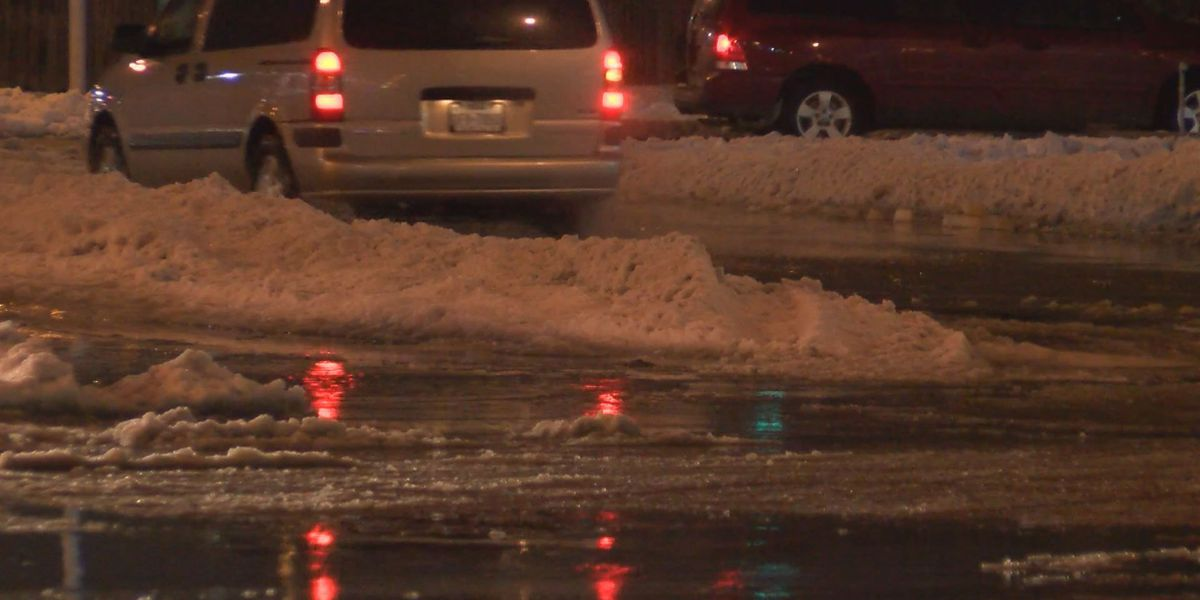 Black ice creating hazardous conditions for New Year's Eve driving