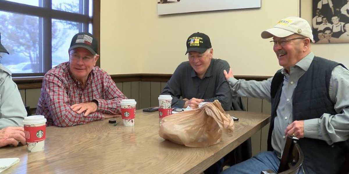 Lubbock veterans gather every day as Uniformed Services Coffee Group 1