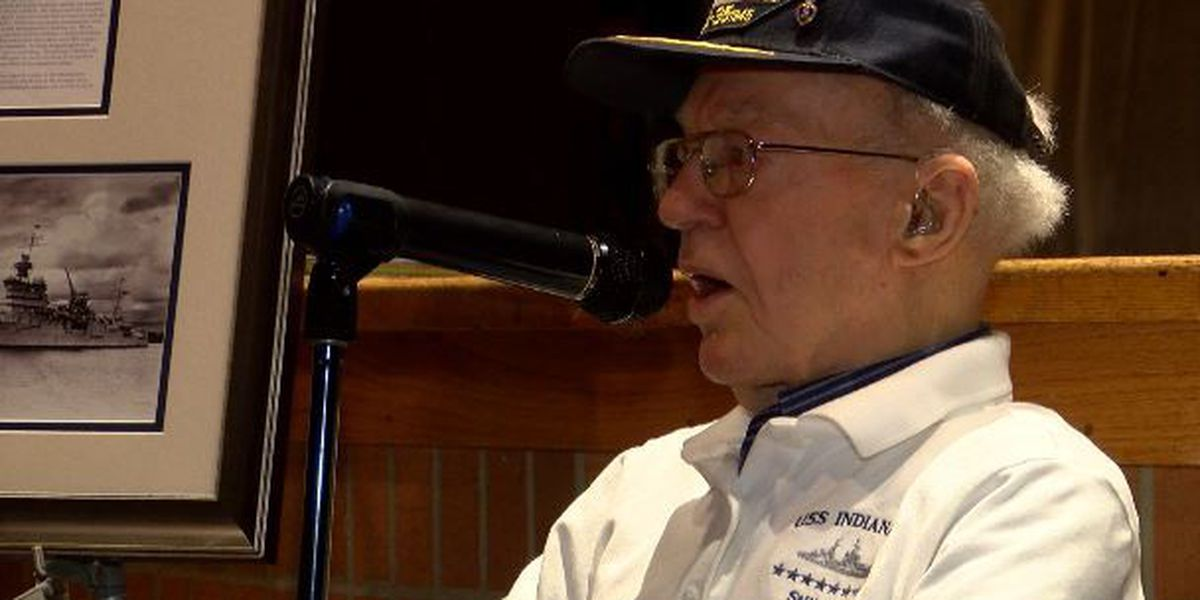 Abernathy High grad, USS Indianapolis survivor returns to school to tell his story