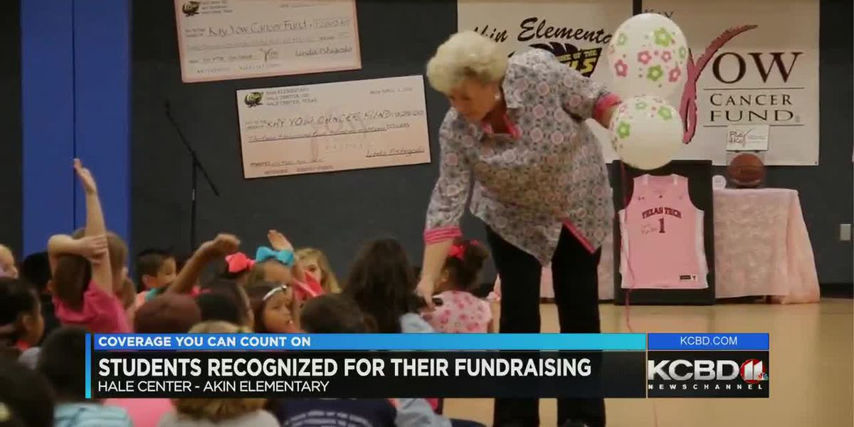 Kay Yow Foundation CEO comes to Hale Center to personally thank kids